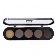 Отзывы Палетка для бровей, 5 цветов Make-Up Atelier Paris TE30 10г