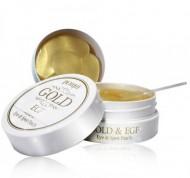 Патчи для глаз с коллоидным золотом и EGF PETITFEE Gold & EGF eye & spot patch: фото