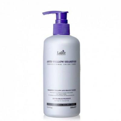 Шампунь оттеночный против желтизны волос La'dor Anti Yellow Shampoo 300мл: фото